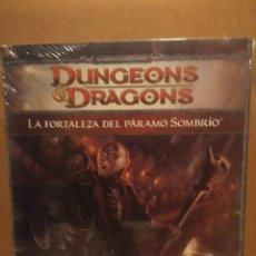Juegos Antiguos: DUNGEONS & DRAGONS : LA FORTALEZA DEL PARAMO SOMBRIO ( UNA AVENTURA DE GRADO HEROICO ). Lote 192289986