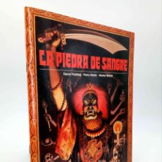 Jogos Antigos: COLECCIÓN ENIGMA. LA PIEDRA DE SANGRE (DAVID FLICKING / PERRY HINTON / R. BRIKETT) TIMUN MAS, 1986. Lote 192383692