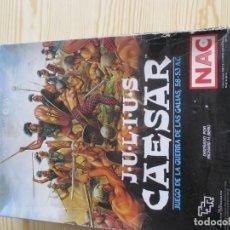 Jogos Antigos: JULIUS CAESAR LA GUERRA DE LA GALIAS DE NAC. Lote 192578846