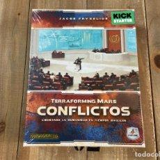 Juegos Antiguos: JUEGO DE MESA - CONFLICTOS VERSION KICKSTARTER - TERRAFORMING MARS - MALDITO GAMES - PRECINTADO . Lote 192980275