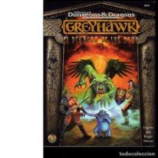 Juegos Antiguos: GREYHAWK. EL REGRESO DE LOS OCHO. DUNGEONS&DRAGONS. Lote 241660660