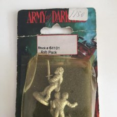 Jogos Antigos: ARMY OF DARKNESS - ASH PACK - EN BLISTER - GCH1. Lote 193228222