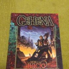 Juegos Antiguos: VAMPIRO LA MASCARADA GEHENNA (LA FACTORIA DE IDEAS LF1999) - TAPA DURA. Lote 193324728