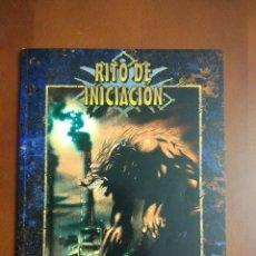 Juegos Antiguos: HOMBRE LOBO EL APOCALIPSIS RITO DE INICIACION (LA FACTORIA DE IDEAS LF2101). Lote 193375467