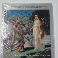 Juegos Antiguos: SEÑOR DE LOS ANILLOS , LORIEN Y LA ESTANCIA DE LOS HERREROS , NUEVO Y RETRACTILADO.. Lote 193637312