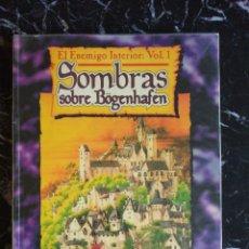Jogos Antigos: WARHAMMER SOMBRAS SOBRE BÖGENHAFEN - EL ENEMIGO INTERIOR 1 (LA FACTORIA DE IDEAS LF303). Lote 193745597