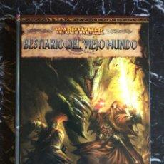 Juegos Antiguos: WARHAMMER SEGUNDA EDICION BESTIARIO DEL VIEJO MUNDO (EDGE EDG5002) - TAPA DURA. Lote 207279391