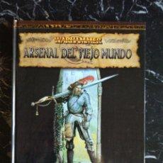 Juegos Antiguos: WARHAMMER SEGUNDA EDICION ARSENAL DEL VIEJO MUNDO (EDGE EDG5004) - TAPA DURA. Lote 193750248