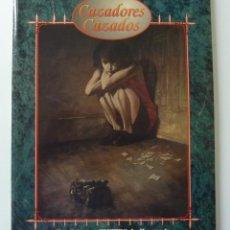 Jeux Anciens: JUEGOS DE ROL // CAZADORES CAZADOS // VAMPIRO LA MASCARADA /. Lote 193790850