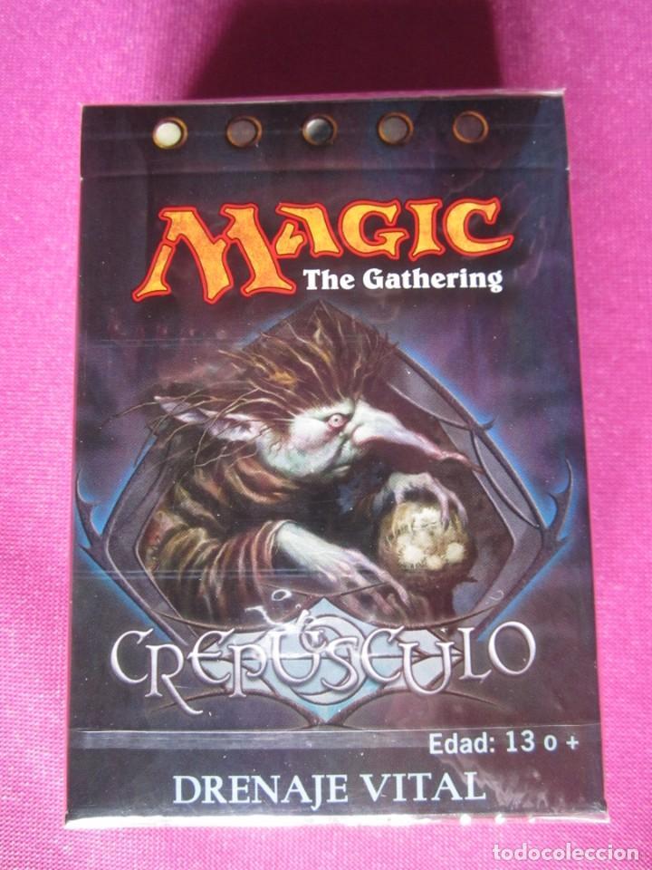 cartas magic crepusculo drenaje vital mazo 60 c - Comprar en todocoleccion - 193914703
