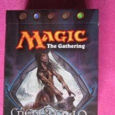Juegos Antiguos: CARTAS MAGIC TACO CON 60 CARTAS SIN ABRIR DE CREPUSCULO SUPERABUNDANCIA. Lote 193948797