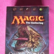 Juegos Antiguos: CARTAS MAGIC GATHERING CREPUSCULO MARCHA MORTAL MAZO CON 60 CARTAS SIN ABRIR.. Lote 193949942