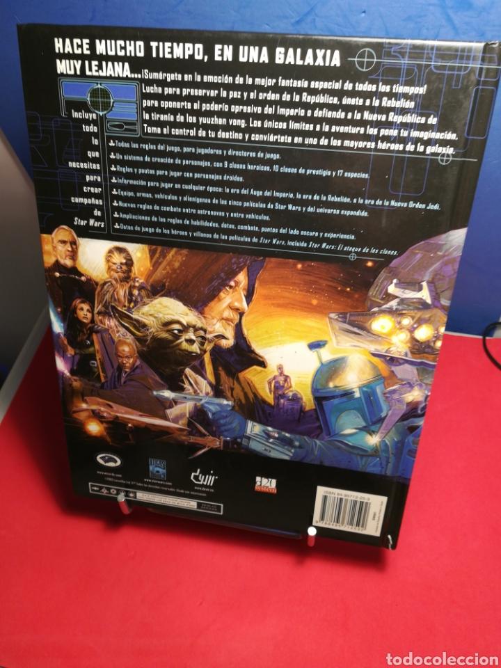 Juegos Antiguos: Juego de Rol Star Wars/ Manual básico revisado/ Lucas Books, 2003 - Foto 2 - 194159146