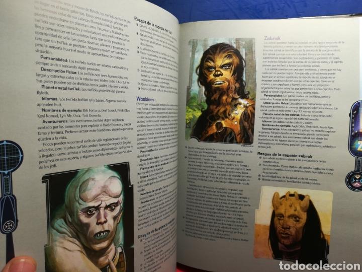 Juegos Antiguos: Juego de Rol Star Wars/ Manual básico revisado/ Lucas Books, 2003 - Foto 5 - 194159146