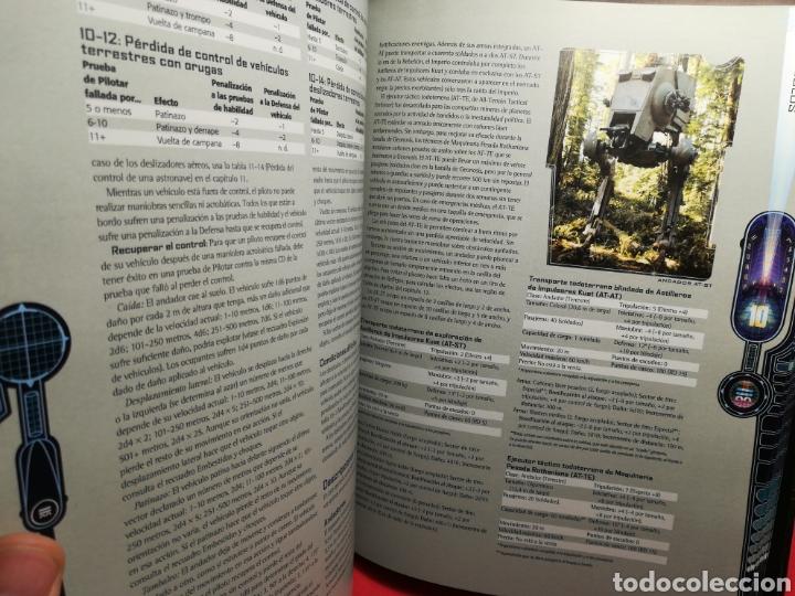 Juegos Antiguos: Juego de Rol Star Wars/ Manual básico revisado/ Lucas Books, 2003 - Foto 7 - 194159146