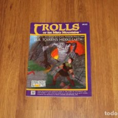 Juegos Antiguos: TROLLS MISTY MOUNTAINS LIBRO JUEGO ROL MERP MIDDLE EARTH RPG 1986 ICE JOC SEÑOR ANILLOS TOLKIEN. Lote 194169548