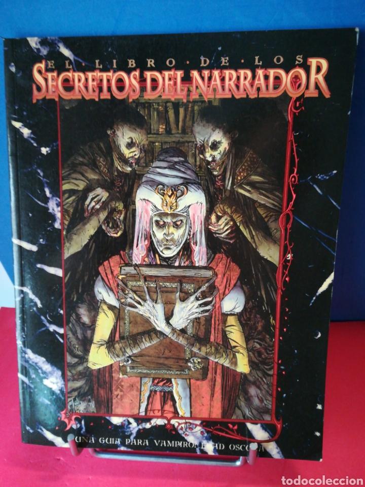 Juegos Antiguos: (Lote ampliado) Libro básico + 8 extensiones juegos de rol de la saga Vampiro de la Edad Oscura - Foto 2 - 194189718