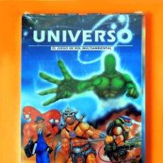 Juegos Antiguos: UNIVERSO - JUEGO DE ROL MULTIAMBIENTAL - EDIT. CRONOPOLIS - 1993 + PANTALLA DEL DIRECTOR - NUEVO. Lote 194203982