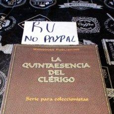 Juegos Antiguos: PRECINTADO LA QUINTAESENCIA DEL CLÉRIGO JUEGO DE ROL. Lote 194384520