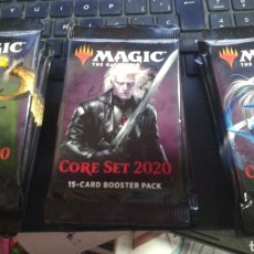Juegos Antiguos: LOTE 15 SOBRES,MAGIC THE GATHERING,CORE SET,BOOSTER PACK,2020. Lote 194392776