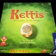 Juegos Antiguos: KELTIS: EL CAMINO DE LAS PIEDRAS CÉLTICAS, JUEGO DE MESA PARA ADULTOS, NUEVO A ESTRENAR.. Lote 212144800