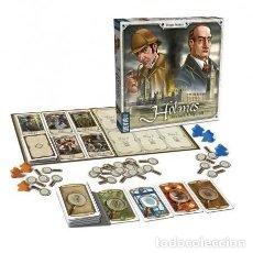 Juegos Antiguos: DEVIR- HOLMES: SHERLOCK AND MYCROFT JUEGO DE MESA, MULTICOLOR. NUEVO A ESTRENAR. Lote 194400845