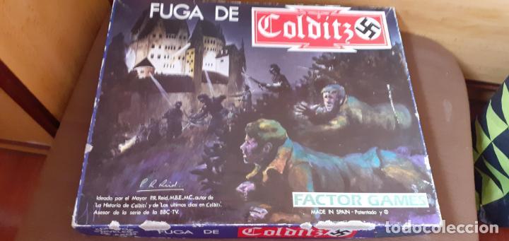 FUGA DE COLDITZ. FACTOR GAMES (Juguetes - Rol y Estrategia - Otros)