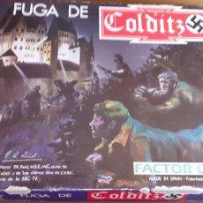 Juegos Antiguos: FUGA DE COLDITZ. FACTOR GAMES. Lote 194436750
