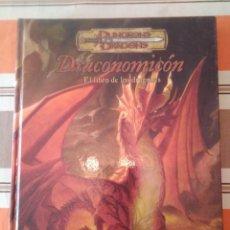 Juegos Antiguos: DRACOMOMICON - DUNGEONS AND DRAGONS - ROL. Lote 194503136