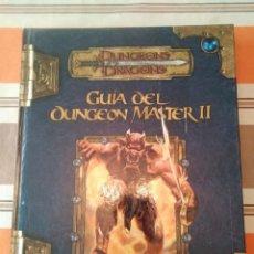 Juegos Antiguos: GUIA DEL DUNGEONS MASTER II - DUNGEONS - MANUAL DE ROL. Lote 194503888