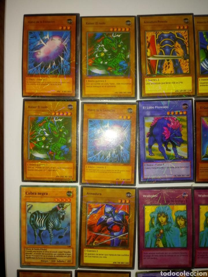 Juegos Antiguos: YU GI OH TRADING CARD GAME . LOTE 55 CARTAS - Foto 2 - 194858972