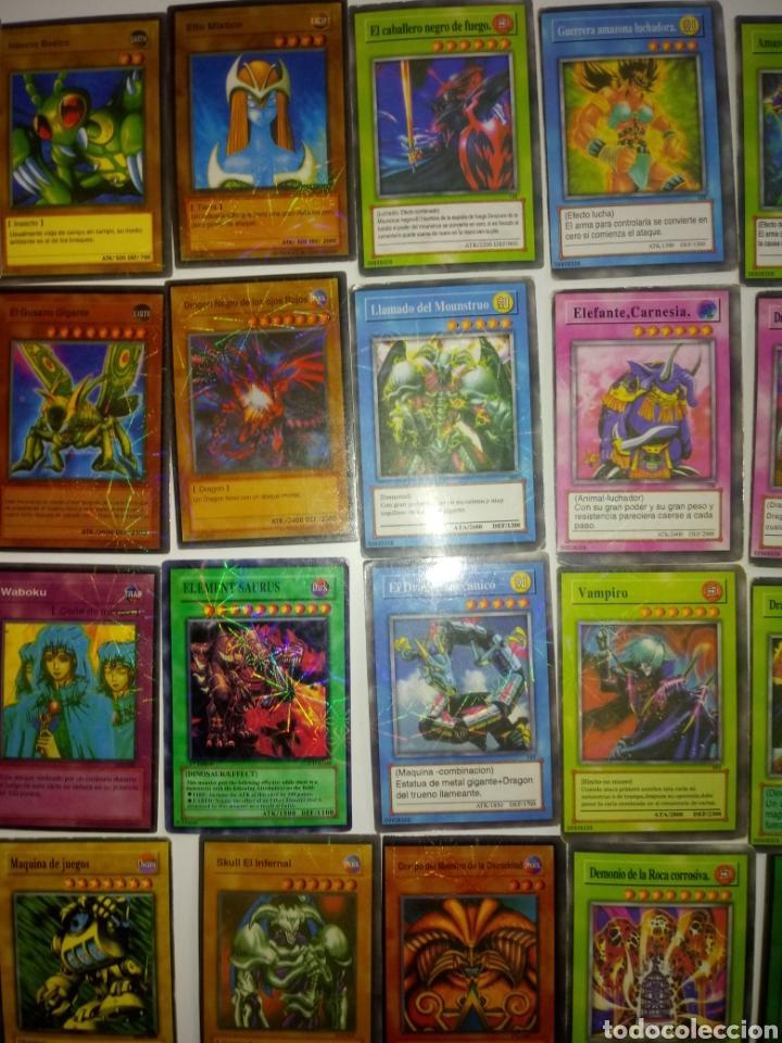 Juegos Antiguos: YU GI OH TRADING CARD GAME . LOTE 55 CARTAS - Foto 4 - 194858972