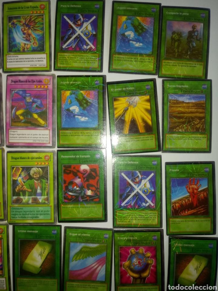 Juegos Antiguos: YU GI OH TRADING CARD GAME . LOTE 55 CARTAS - Foto 5 - 194858972