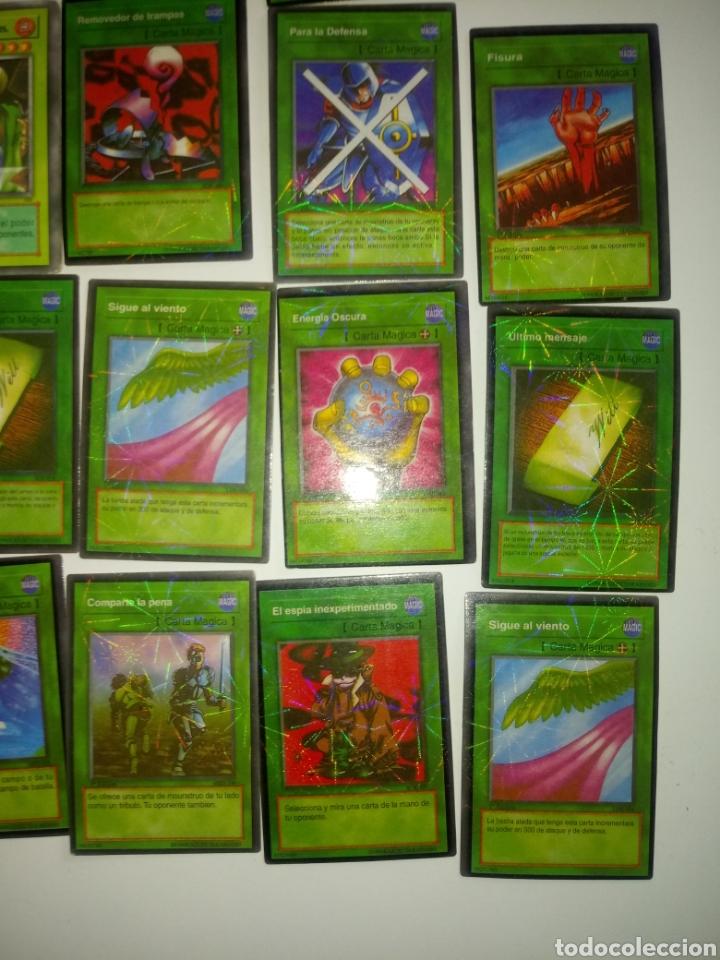 Juegos Antiguos: YU GI OH TRADING CARD GAME . LOTE 55 CARTAS - Foto 6 - 194858972