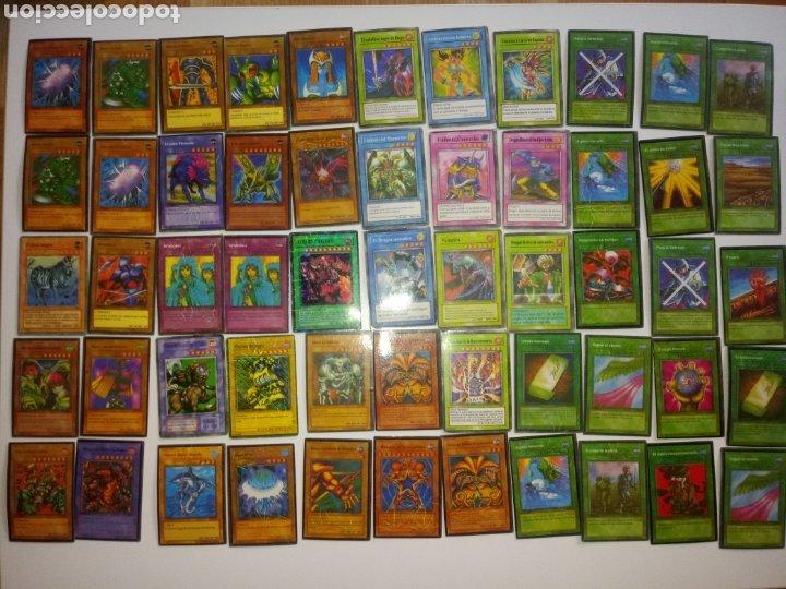 YU GI OH TRADING CARD GAME . LOTE 55 CARTAS (Juguetes - Rol y Estrategia - Otros)