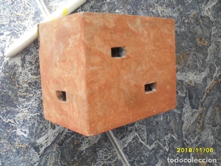 Juegos Antiguos: casa de resina para juego con figuras, escala tipo 1/43 - Foto 4 - 194864276