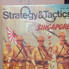 Juegos Antiguos: WARGAME STRATEGY AND TACTICS. SINGAPORE 1941. Lote 195102595