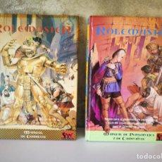 Juegos Antiguos: MANUAL DE PERSONAJES Y DE CAMPAÑAS Y MANUAL DE COMBATE ROLEMASTER ORIGINALES . Lote 195145123