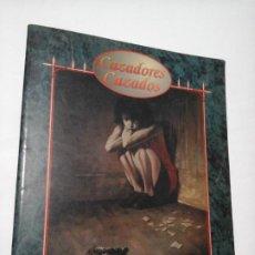 Juegos Antiguos: CAZADORES CAZADOS SUPLEMENTO DE ROL PARA LA FACTORIA DE IDEAS DE LA FACTORIA DE IDEAS.. Lote 195172838