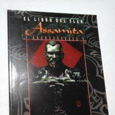 Juegos Antiguos: EL LIBRO DEL CLAN ASSAMITA SUPLEMENTO PARA VAMPIRO LA MASCARADA DE LA FACTORIA DE IDEAS , NUEVO.. Lote 195173406