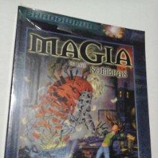 Juegos Antiguos: MAGIA EN LAS SOMBRAS SUPLEMENTO DE ROL PARA SHADOWRUN DE LA FACTORIA DE IDEAS , NUEVO .. Lote 195175766