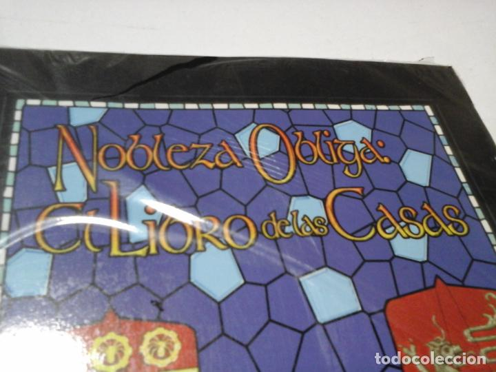 Juegos Antiguos: NOBLEZA OBLIGA EL LIBRO DE LAS CASAS SUPLEMENTO DE ROL PARA CHANGELING DE LA FACTORIA DE IDEAS NUEVO - Foto 2 - 195179120