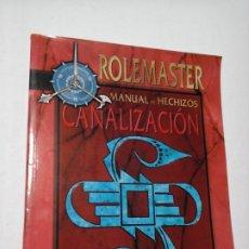 Juegos Antiguos: CANALIZACION MANUAL DE HECHIZOS SUPLEMENTO DE ROL PARA ROLEMASTER DE LA FACTORIA DE IDEAS, NUEVO.. Lote 195187513