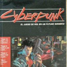 Juegos Antiguos: CYBERPUNK EL JUEGO DE ROL EN UN FUTURO SOMBRIO 2.0.2.0 M+D EDITORES. Lote 195234482