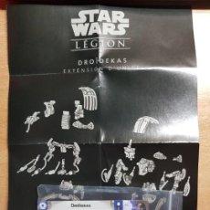 Juegos Antiguos: STAR WARS LEGION. DROIDEKAS CARTAS DE EXPANSION DE UNIDAD EN PORTUGUÉS. Lote 195298225