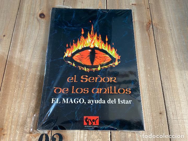 JUEGO DE CARTAS SATM - EL SEÑOR DE LOS ANILLOS - EL MAGO, AYUDA DEL ISTAR - JOC 1996 PRECINTADO! (Juguetes - Rol y Estrategia - Otros)