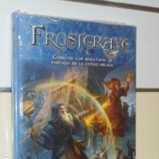 Juegos Antiguos: FROSTGRAVE COMBATES CON MINIATURAS DE FANTASIA LIBRO BASICO - HT PUBLISHERS OFERTA. Lote 195401217