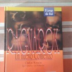 Juegos Antiguos: RAGNAROK - JUEGO DE ROL. Lote 195503328