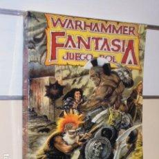 Juegos Antiguos: WARHAMMER FANTASIA JUEGO DE ROL - LA FACTORIA DE IDEAS GAMES WORKSHOP OFERTA. Lote 195504495