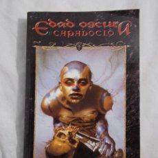 Juegos Antiguos: EDAD OSCURA CAPADOCIO PRIMERA EDICIÓN MUNDO DE TINIEBLAS LA FACTORIA DE IDEAS . Lote 195597793